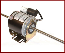 Resilient mount motors at pole star products for Double ended shaft electric motor
